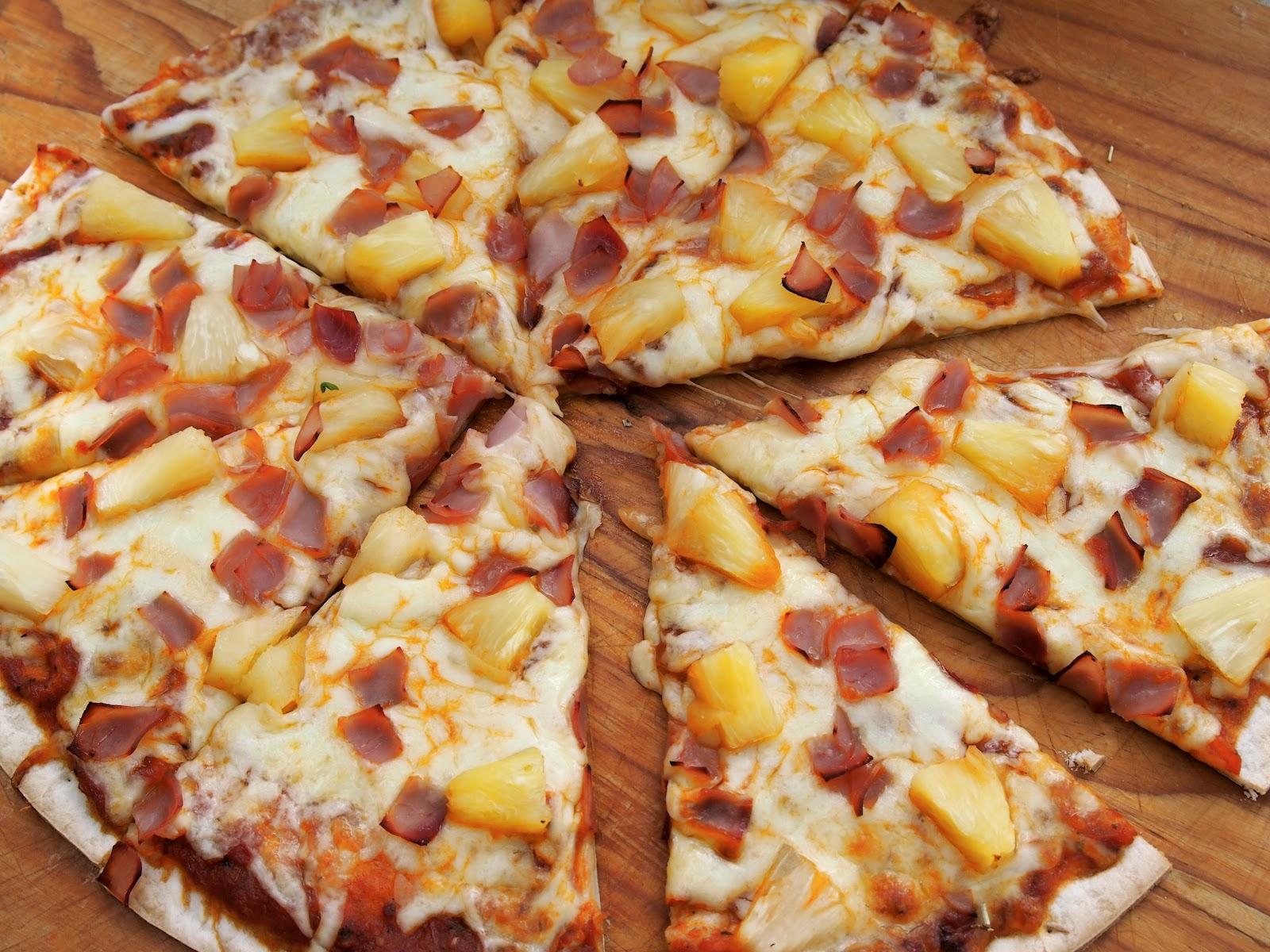 Teen Cuisine Hawaiian Pizza