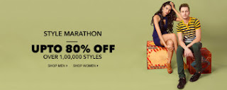 Jabong Style Marathon Sale Get Upto 80% Off on all Lifestyle & Fashion Products
