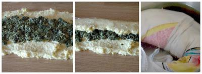 Rotolo di patate e spinaci gli step standiamo il composto di patate e prepariamo il rotolo