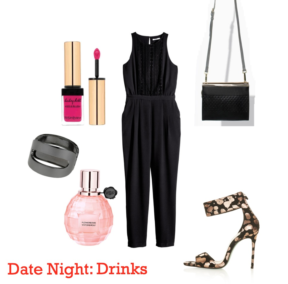 mamasVIB | V. I. BUYS: What to wear on Date Night - when you haven't had a date in a while!, What to wear on Date Night - when you haven't had a date in a while! | date night | couples |dating | dinner | cocktails | cinema | date | topshop | zara | mummy and daddy date | sexy | River Island | heels | jumpsuit | handbag | earrings Jcrew | Miss Selfridge | Boots | perfume | viktor and rolf | lipstick | ysl | H&M | gap | jeans | sexy clothes | going on a date | evening | mamasVIb | mummy bloggers |VIB | going out on a date | sex | romantic | birth | after birth | informal date | couple | married | parents | going out after having children | zara fashion | fashion | style | now magazine | stylist | fashion editor | style guide | what to wear