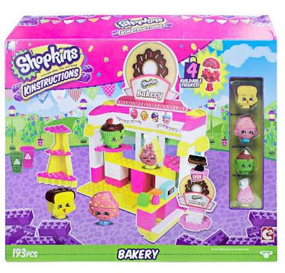 TOYS : JUGUETES - SHOPKINS  Kinstructions - Bakery : Pasteleria | Juego de construcción  Producto Oficial 2015 | Piezas: 193 | Edad: +6 años  Comprar en Amazon España & buy Amazon USA