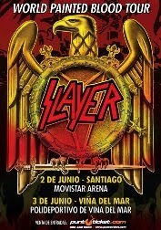 SLAYER EN CHILE 2011