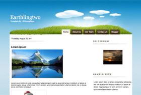 EarthlingTwo Blogger Template