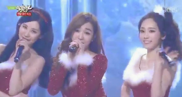 2014 Music Bank Christmas Special performances!