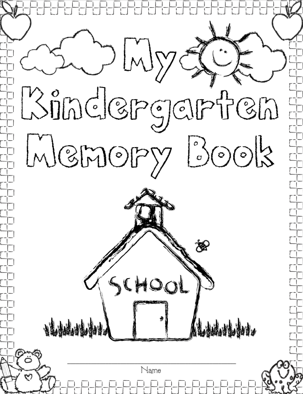 Kindergarten Memory Book Cover Ideas : Mrs solis s teaching treasures our kindergarten memory