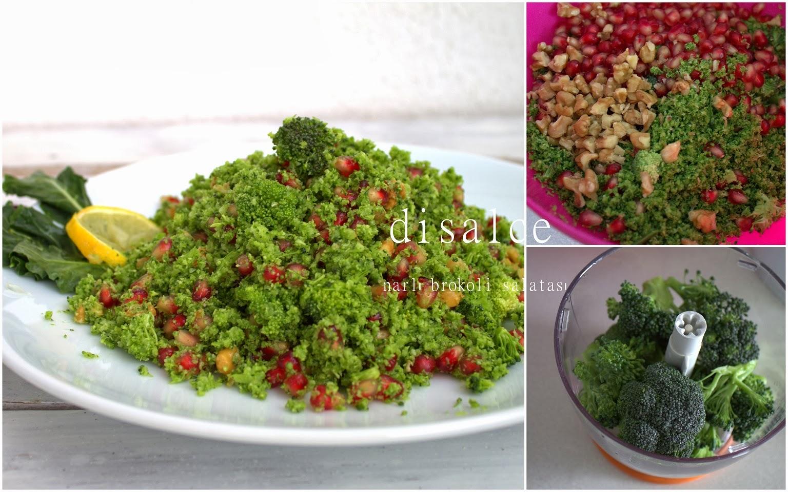 narlı brokoli saltası