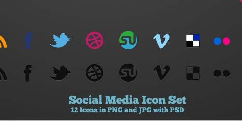 Wajib Miliki 33 Icon Sosial Media Ini