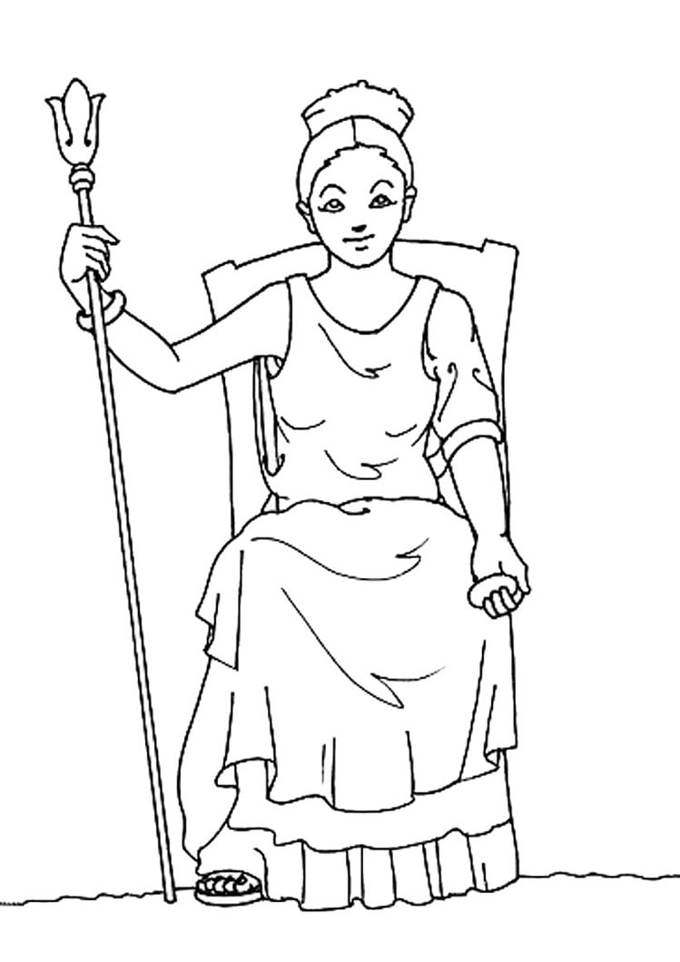 hera coloring pages - 39 12