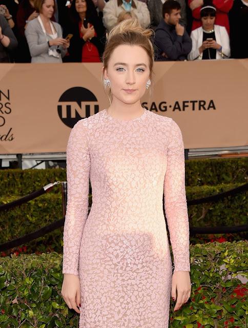Actress, @ Saoirse Ronan - 22nd Annual Screen Actors Guild Awards at Shrine Auditorium in LA