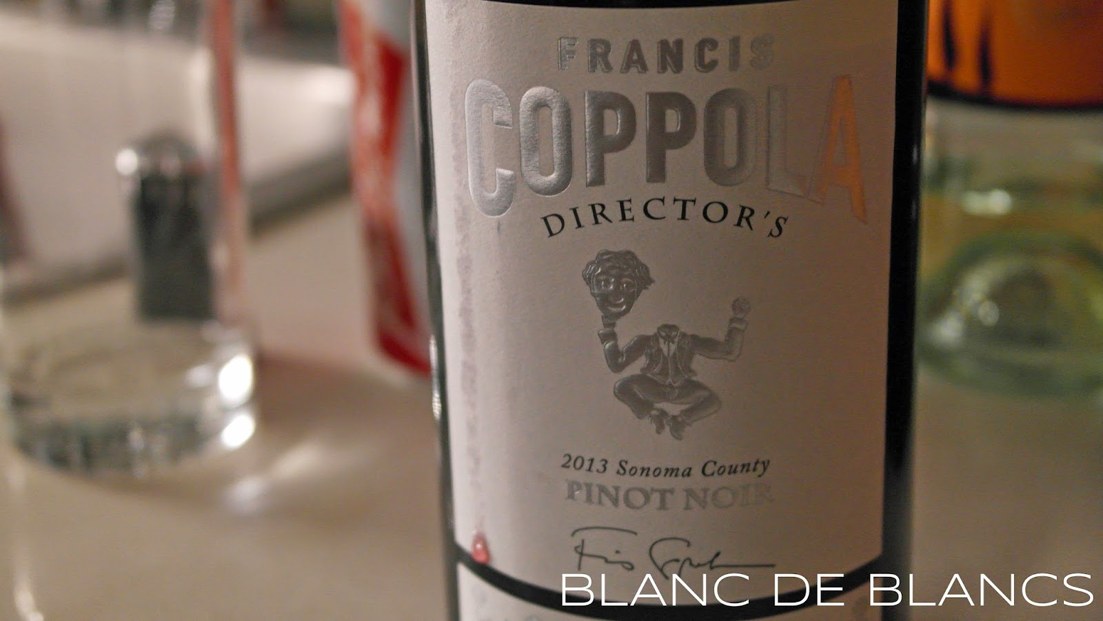 Francis Coppola Director's Pinot Noir 2013 - www.blancdeblancs.fi