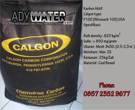 Carbon Calgon F100