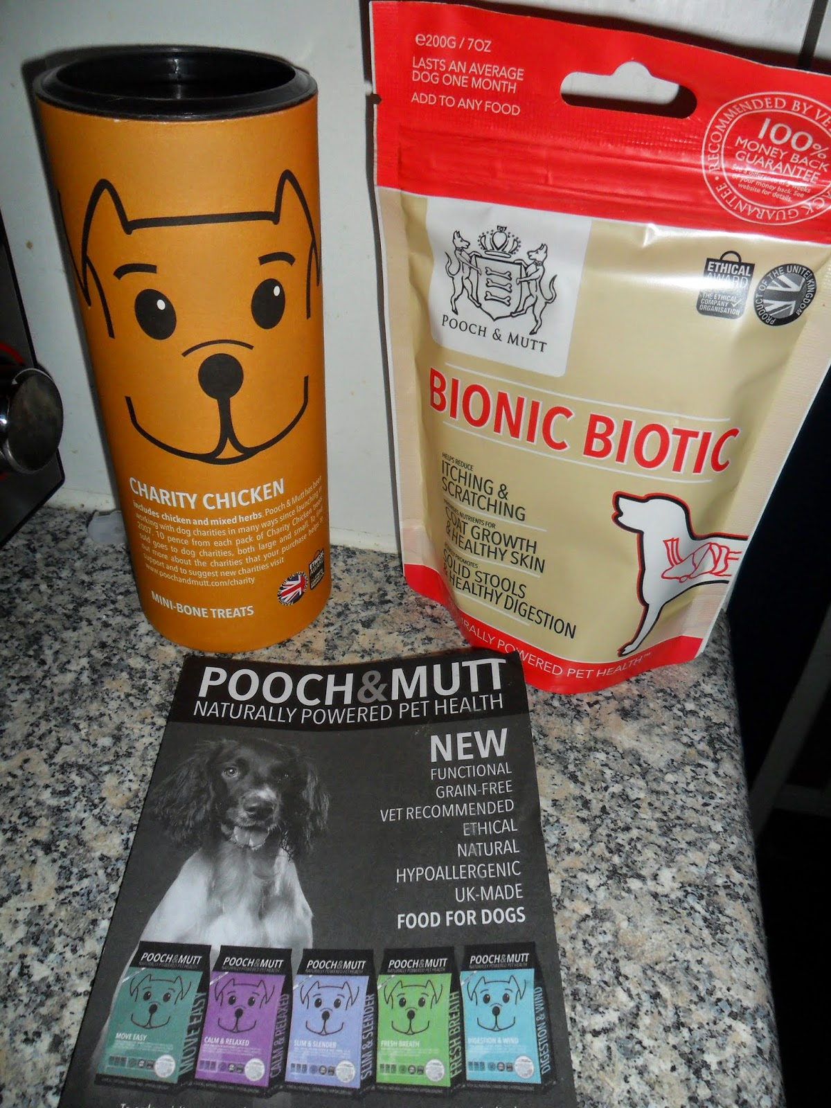 Pooch & Mutt Healthy Treats & Supplements