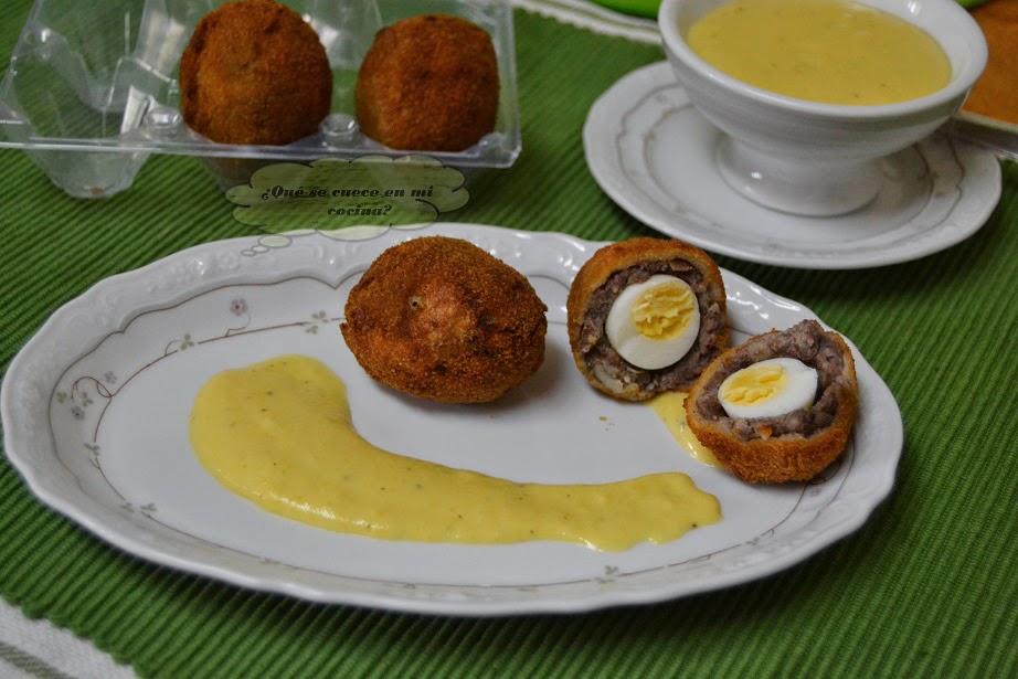 Cocina Escocesa | Desafio En La Cocina Huevos A La Escocesa 24º Desafio En La Cocina