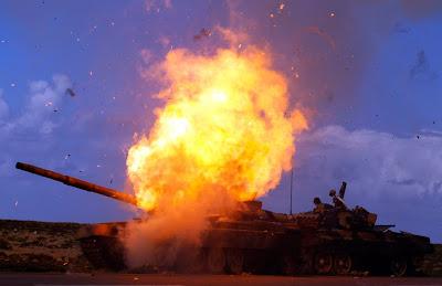 Foto Exclusive Perang Libya