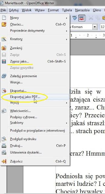 Eksportuj jako PDF