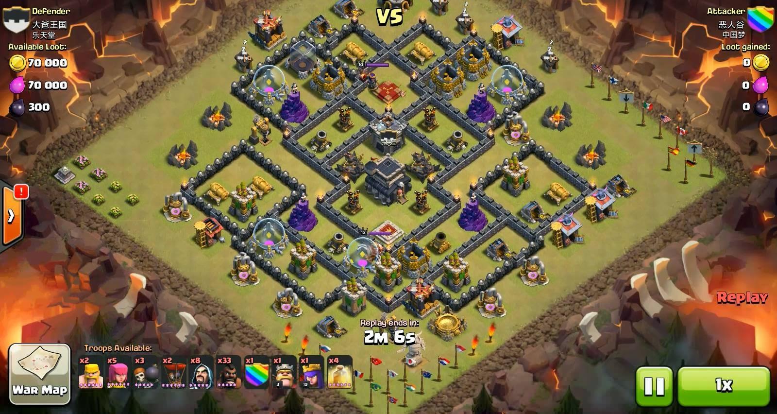 Base clan war terbaik th 9 clash of clans semoga bermanfaat