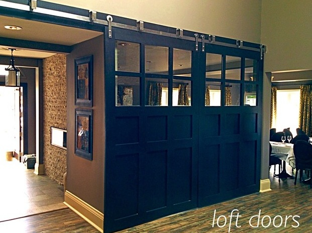 Loft Doors Add Style To Your Space