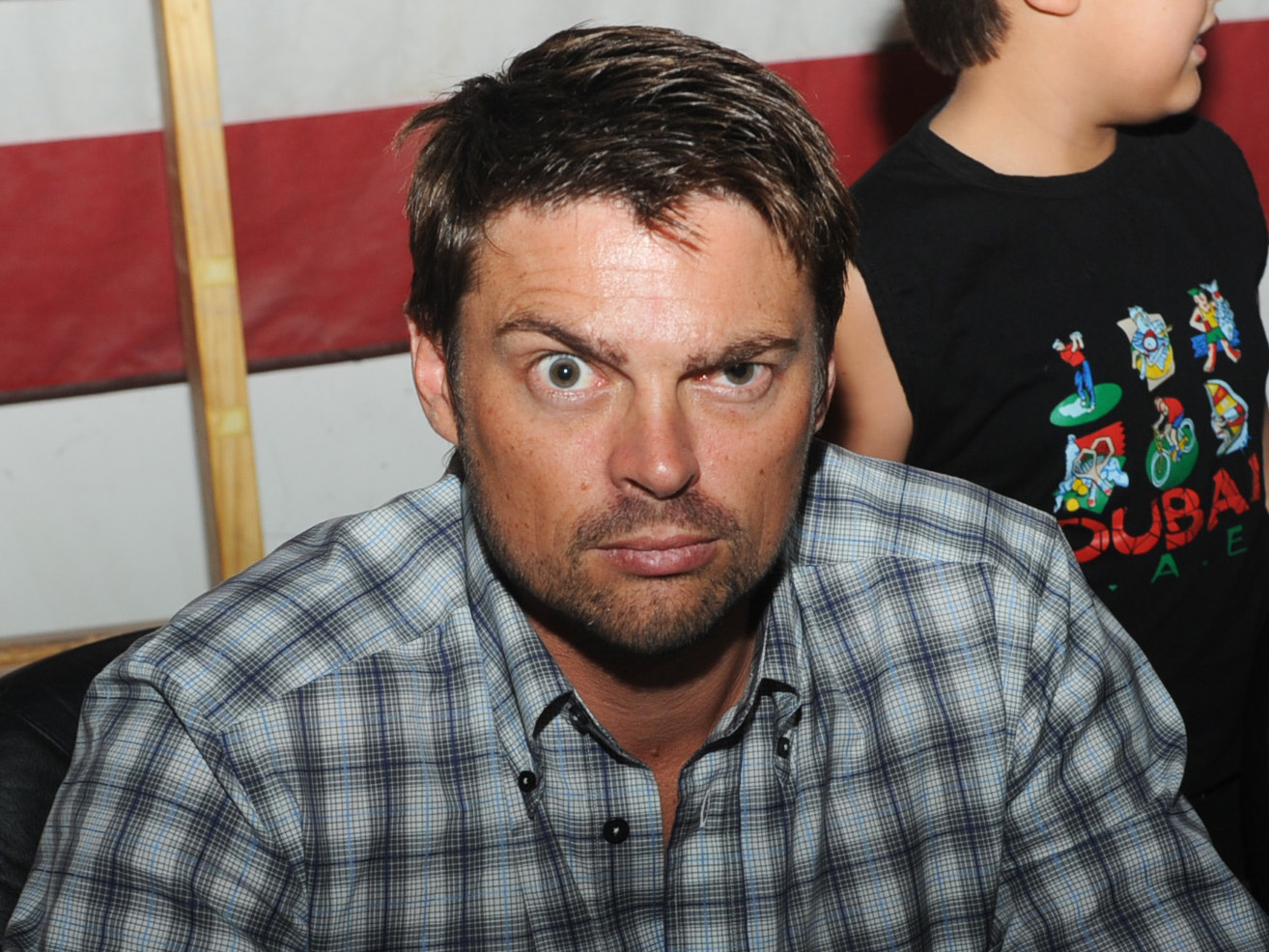 At Comic-Con actor Karl Urban talked about thenew J.J. Abrams sci-fi ...