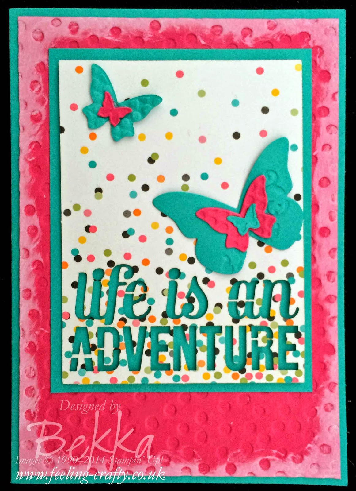 Project Life by Stampin' Up! Greeting Card by Stampin' Up! UK Independent Demonstrator Bekka Prideaux