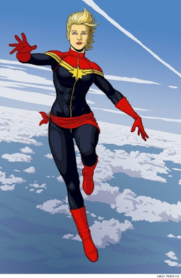 Ms Marvel promoted to Captain Marvel