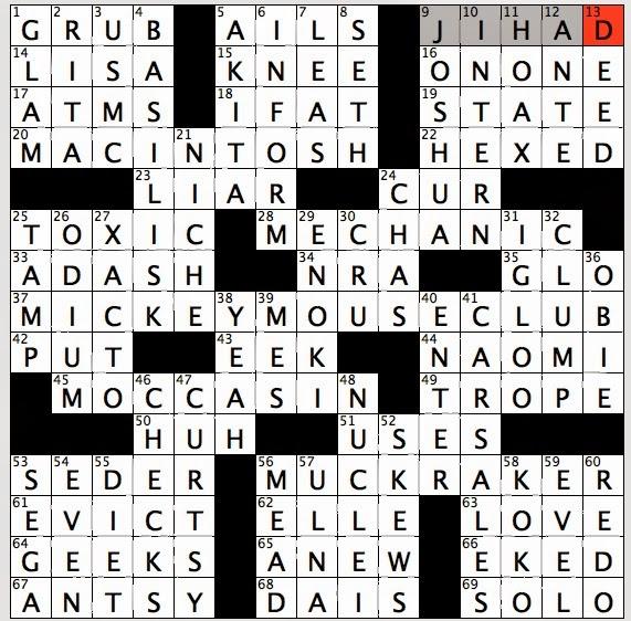 middle ages quaff crossword clue