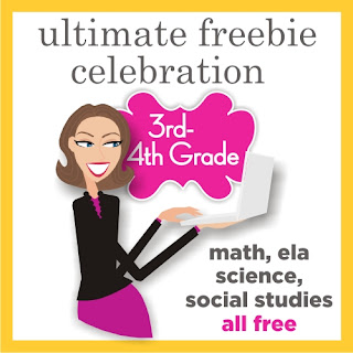 3rd Grade and Fourth Grade Free Download - Teacher Fun on Teaching Blog Addict