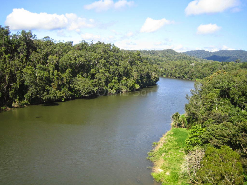 Barron River, Cairns Tablelands, Queensland, Australie