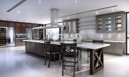 Tradition interiors of nottingham new to clive christian contemporary kitchen - Clive christian kitchen cabinets ...