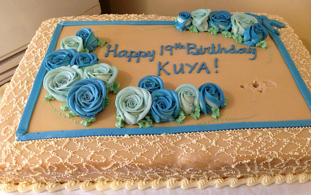 Rectangle Birthday Cakes With Flowers We got a 14x20 rectangular