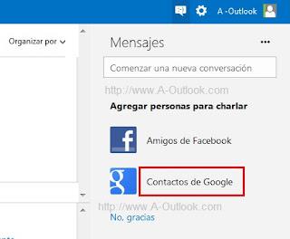 chatear con usuarios de gmail en skype