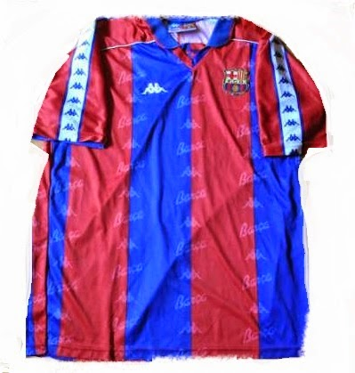 camiseta Barcelona de Kappa, 1992