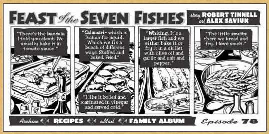 Italophile book reviews feast of the seven fishes by for What is the feast of seven fishes