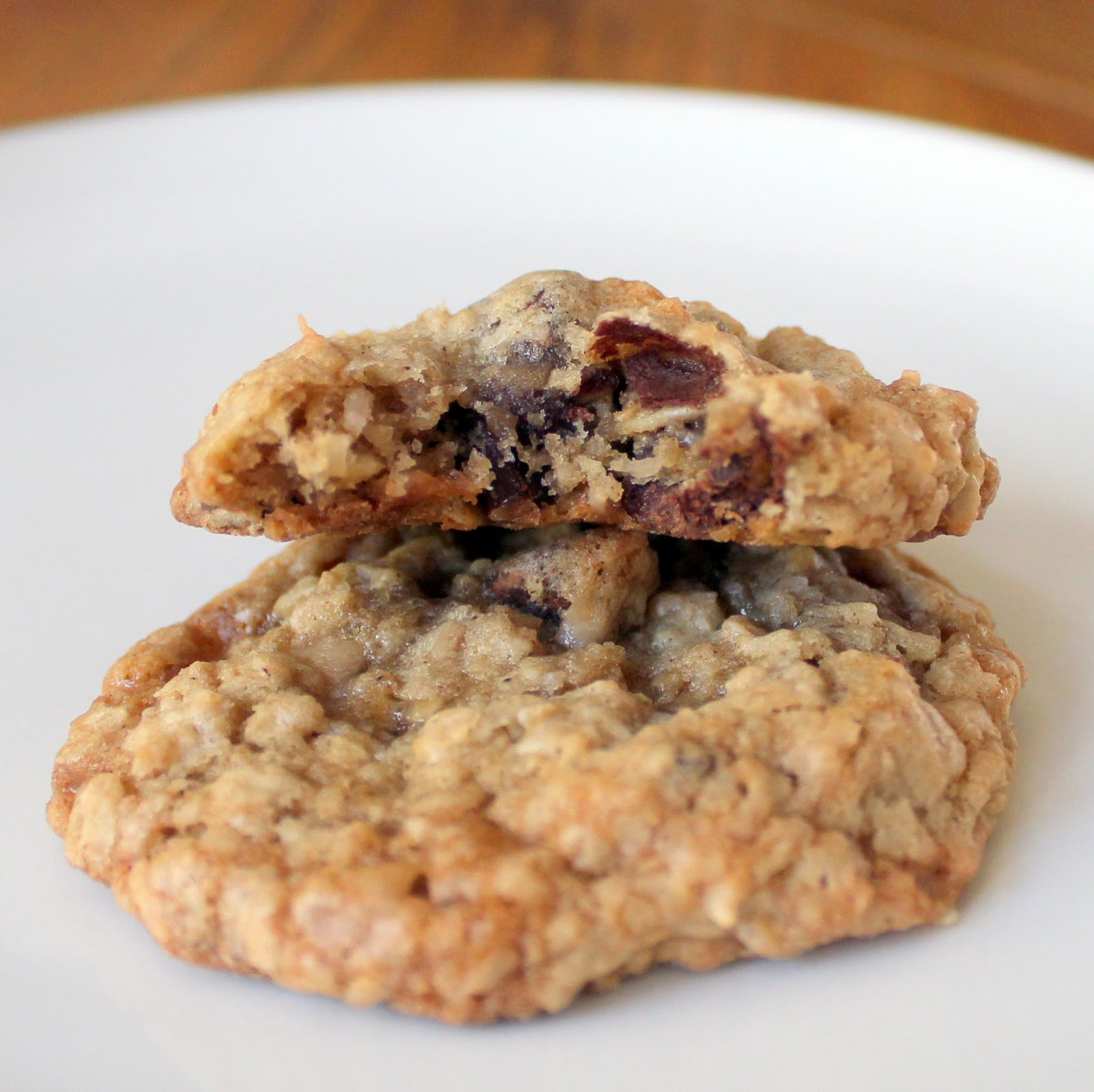 Chomping Board: Oatmeal Chocolate Chip Coconut Toffee Cookies