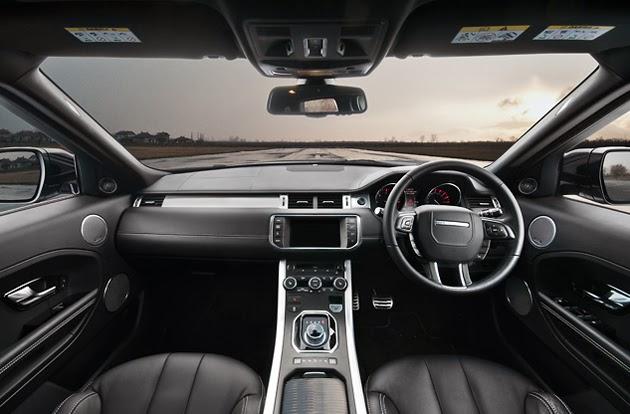 GET INFO CARS: RANGE ROVER EVOQUE 9 SPEED
