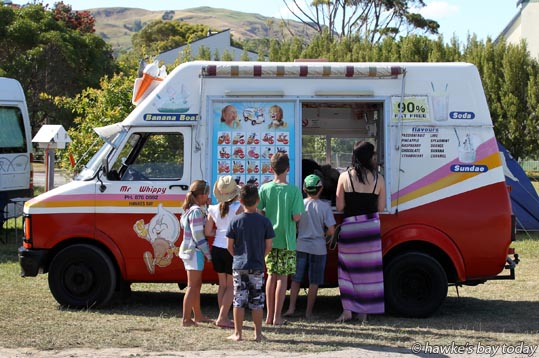 Kiwiana - Mr Whippy in Waimarama photograph