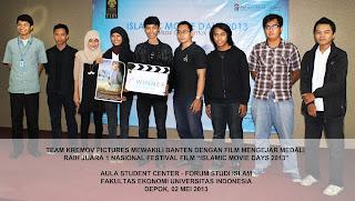 Melalui Kremov, Banten Jadi Superstar Dalam IMD 2013 Universitas Indonesia !