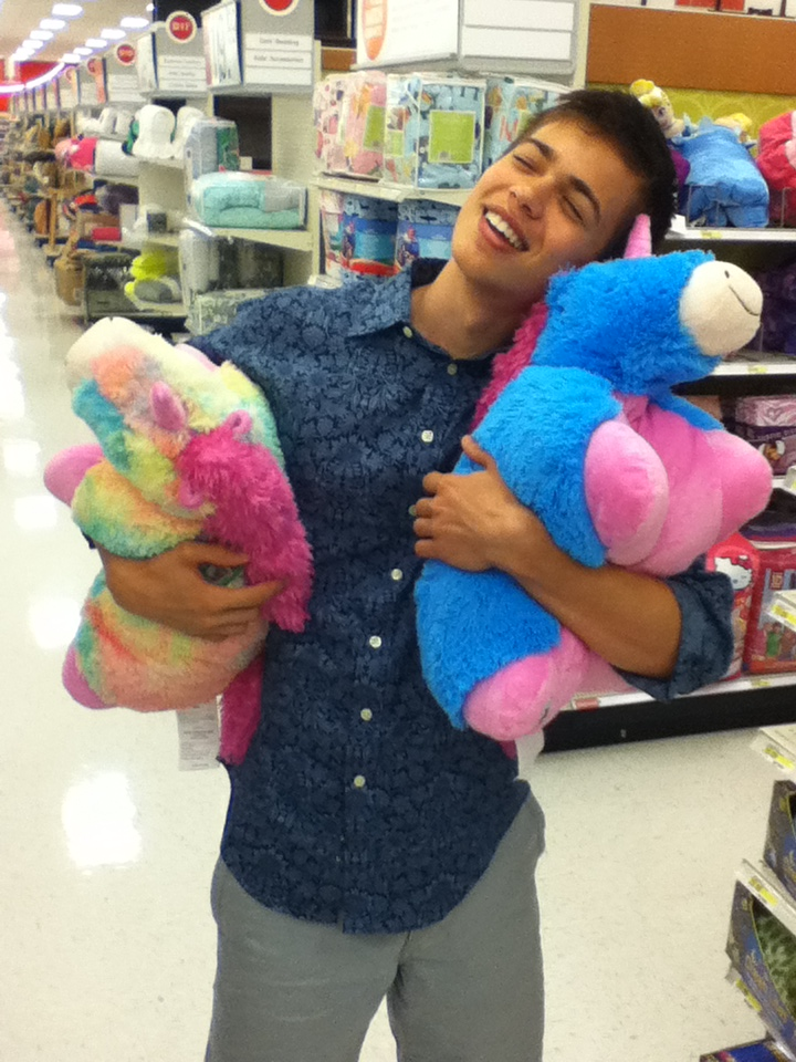 pillow pets target. The Neobrawist\u2014a Young Teen Who, On Occasion, Wears Floral-print Shirts To Target® And Snuggles Tenderly With Rainbow-colored Unicorn Pillow Pets® Which Pets Target