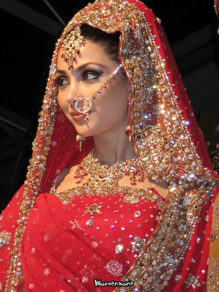 Latest pakistani indians arabic mehndi design jewelry for Indian bridal wedding dresses
