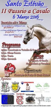 Stº Estêvão(Benavente)- II Passeio a Cavalo- 6 Março