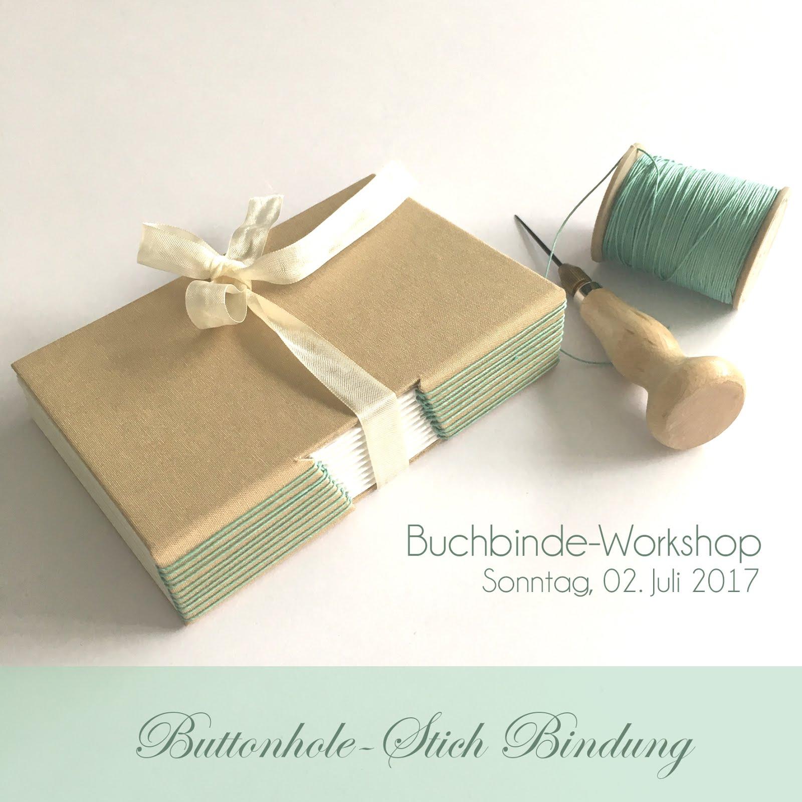 Nächster Buchbinde-Workshop
