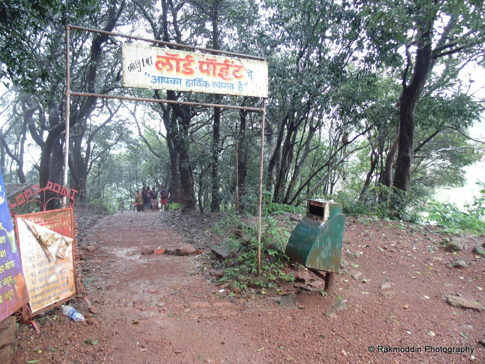 Lord Point - A Scenic Point in Matheran Hill Station