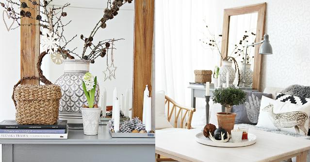 5 propuestas para decorar una mesa auxiliar la for Mesa auxiliar estilo nordico