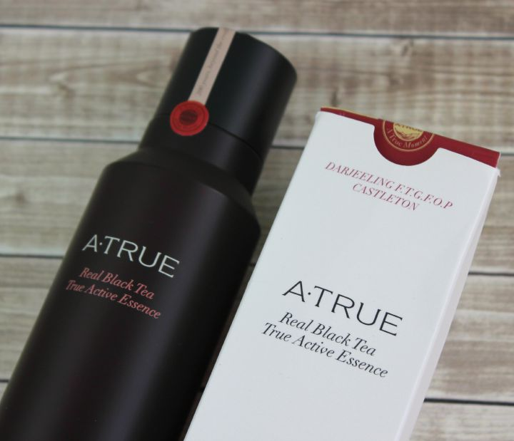 A.True Real Black Tea True Active Essence box ingredients