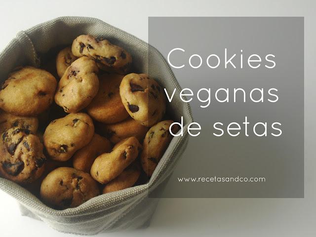 Recetas veganas y vegetarianas galletas