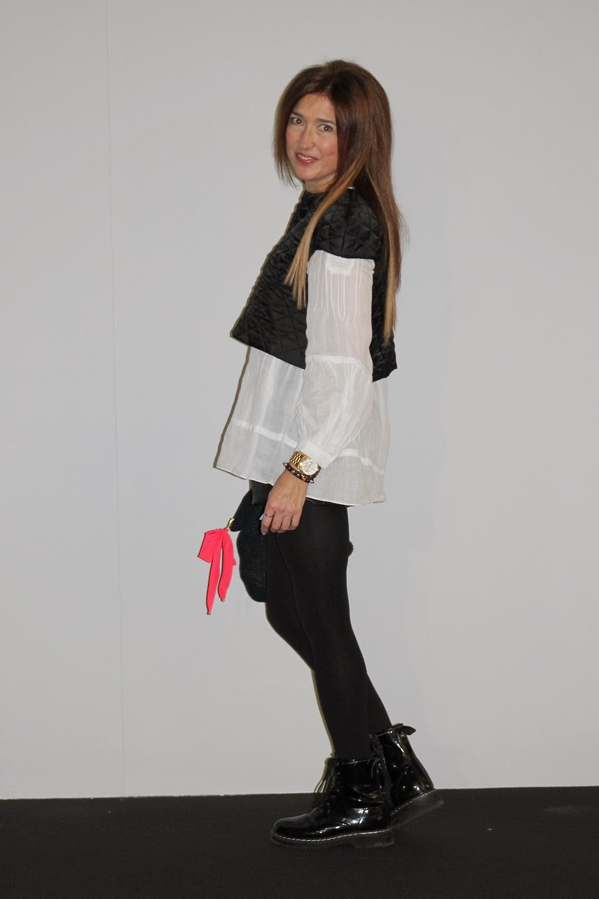 Street Style MBFW Madrid, Top Leyre Valiente, Carmen Hummer
