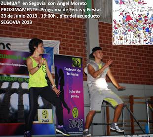 ZUMBA® en Segovia MASTER CLASS 23 de Junio 19:00h pies Acueducto