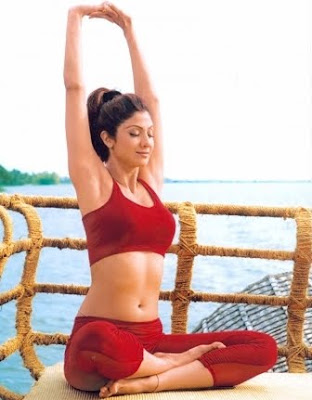 Hot Bollywood Yoga Celebrities