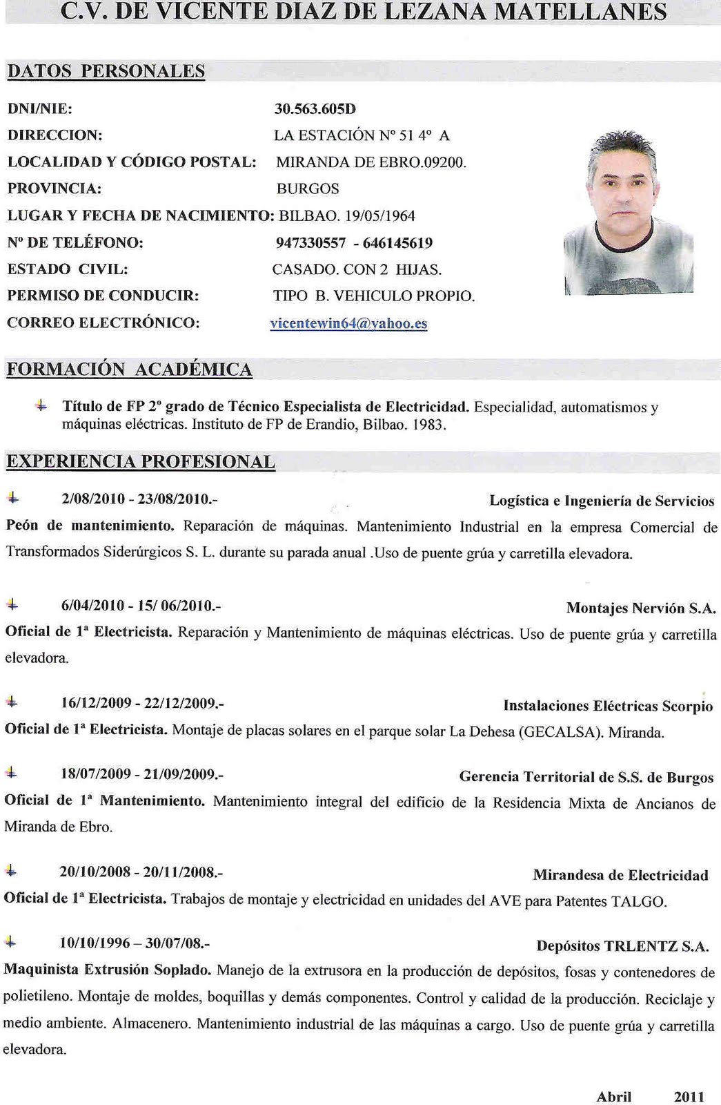 ejemplos curriculum vitae espaol motorcycle review and