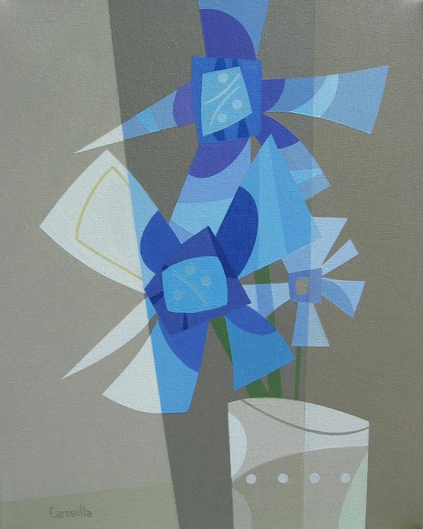 """""""Flores azules"""""""