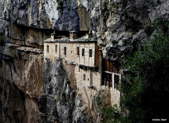 Kipina's monastery greece
